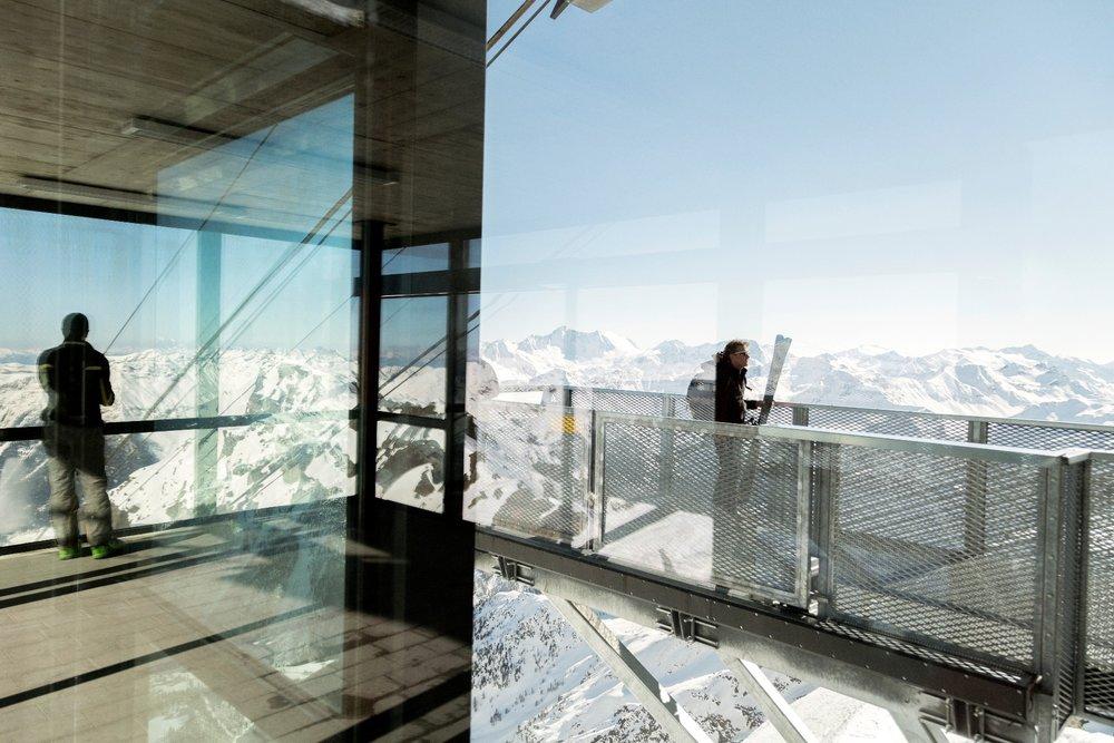 Apres ski in Trentino - Panorama 3000 Glacier, Skiarea Peio Val di Sole - © Trentino - D. Lira
