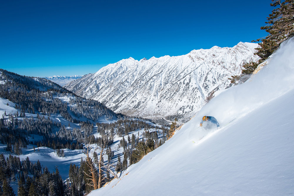 Snowbird Ski and Summer Resort has the longest ski season in Utah, and while it's known for its steep and deep, the resort has a wide mix of terrain, great accessibility, lodging and spa accommodations. - © Scott Markewitz