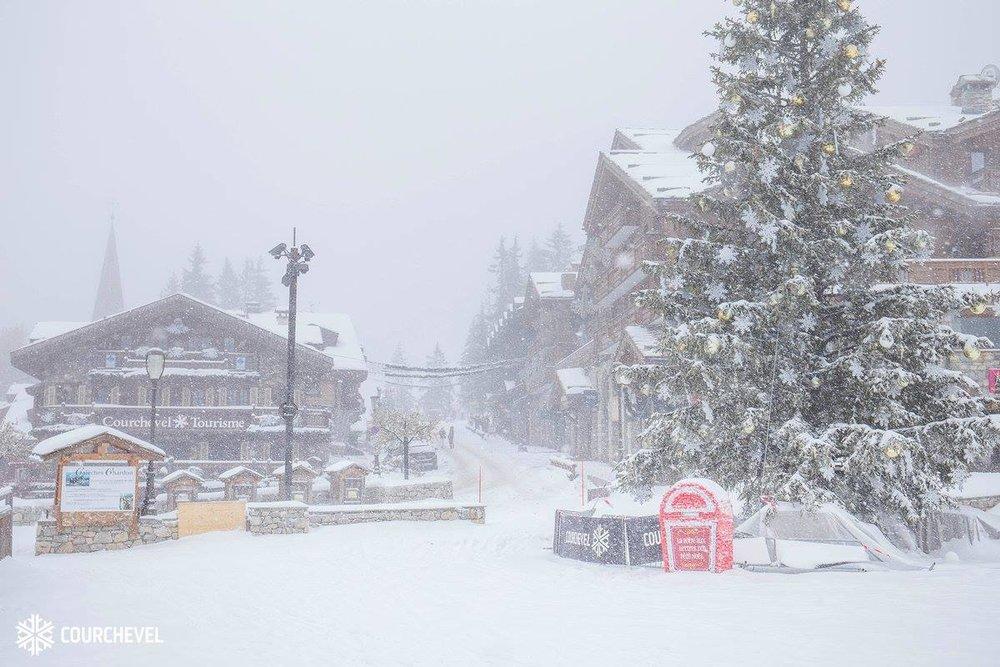 Winterliche Eindrücke aus Courchevel (FRA) - © Courchevel Facebook