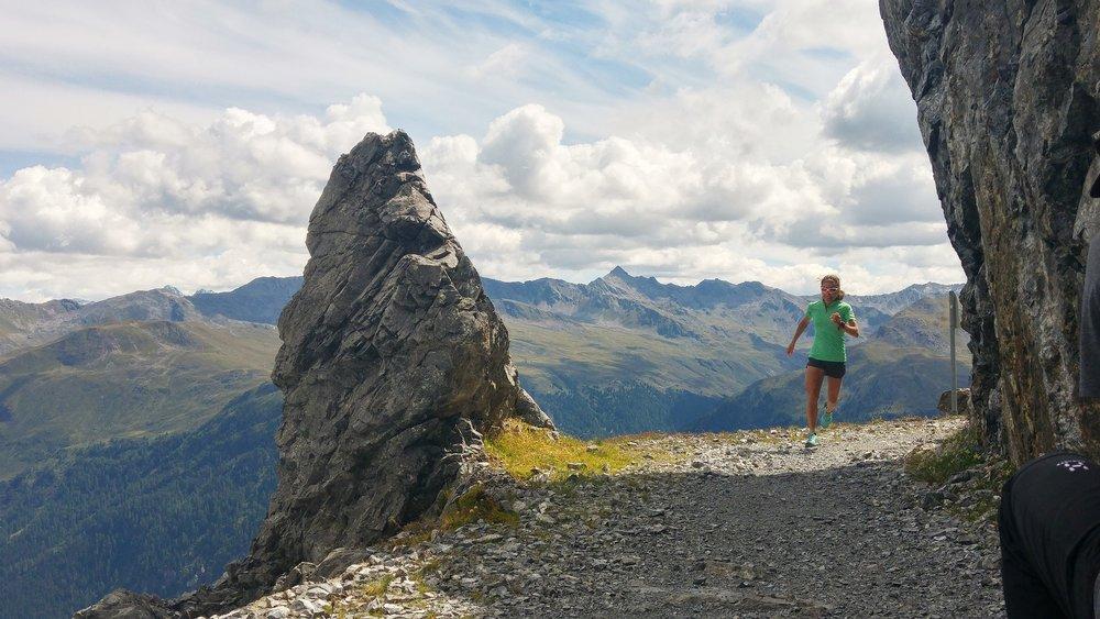 Trail running in Davos Klosters - © Marc Berendsen