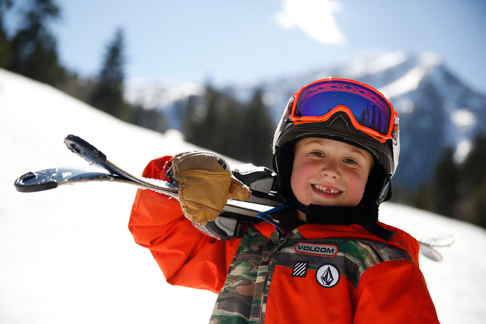 Every Utah ski resort has a beginner ski program for kids and adults. - © Marc Piscotty