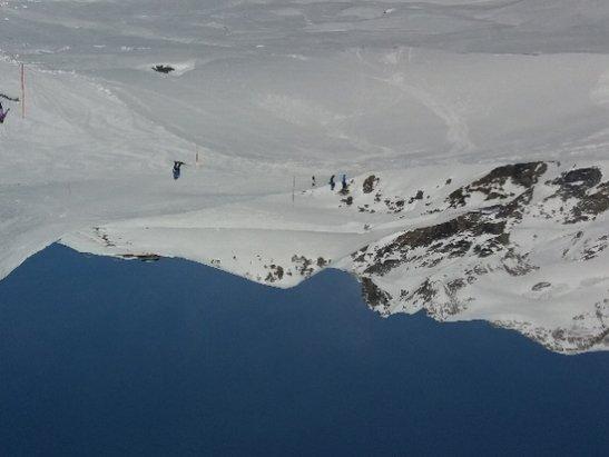Alagna Valsesia - Monterosa Ski - Natale  magico io e il mio Amore Topy piste stupende  sole caldo - © Anonimo