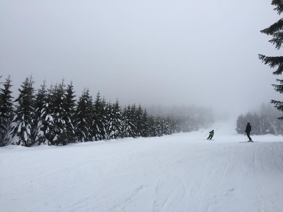 Vynikající sněhové podmínky v Rokytnici nad Jizerou (27.12.2018) - © Skiareál Rokytnice nad Jizerou - facebook