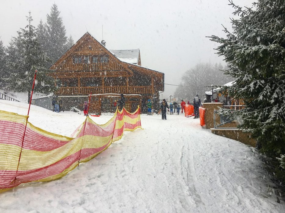 Fackov Pass, Slovakia - Dec 28 - © Facebook - Fačkovské sedlo