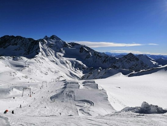 Glacier de Stubai - Excellente neige ! - © marieannick.thomas71