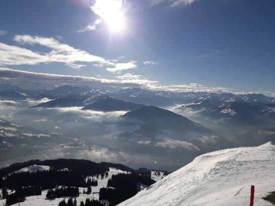 Ellmau - SkiWelt - Trotz wenig Schnee wundersch - © Anonym