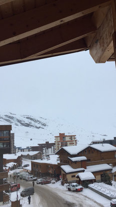Val Thorens - Heavy snowfall - © iPhone