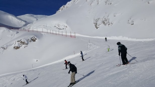 Ischgl - all open, and first  blue sky  of the week - © David