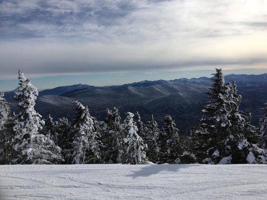 Whiteface Mountain Resort - It's seldom I get bluebird skies, no wind, no lines, and good snow at the face. - © Labrat
