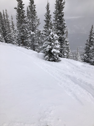 "Winter Park Resort - 10"" fresh!  Big snow all over!  Busy for a Thursday! - © Dan"