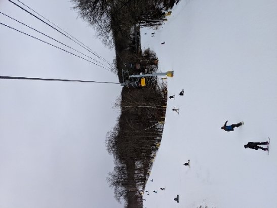 Mountain Creek Resort - great ski day. not crowded in the morning until noon. - © Nik C.