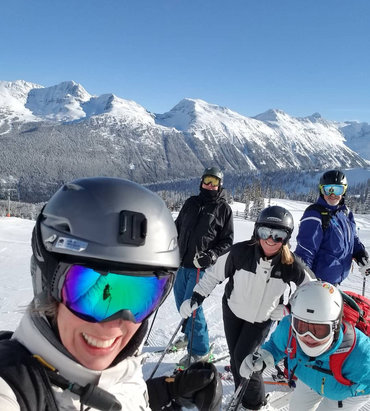 Whistler Blackcomb - Having fun with the whole fam damly  - © Patricia Thompson's iPho