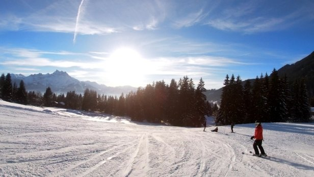 Villars - Gryon - perfect conditions for amazing skiing for all level  - © Matt