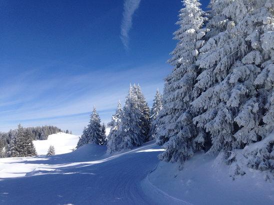 Les Rousses - Encore plus beau que du plaisir pour skier  - © iPhone de Eric