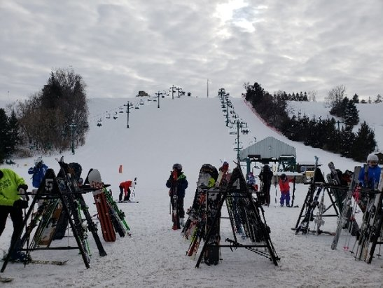 Mount Kato Ski Area - Great snow today. good boarding for MN - © anonymous