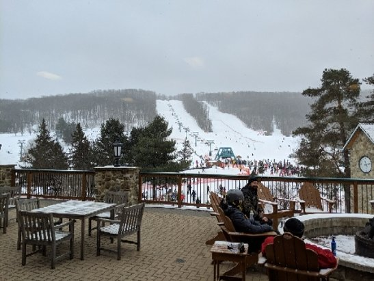 Holiday Valley - Yesterday was incredibly icy. Almost too much to be enjoyable. - © Johnny Tsunami