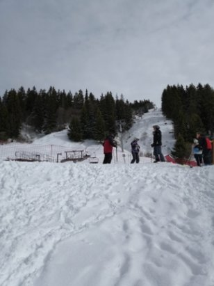 Les Saisies - lovely snow and weathet - © anonymous
