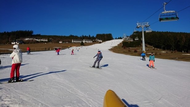 Willingen - Unfortunately quite warm, but still well groomed pistes - © anonymous