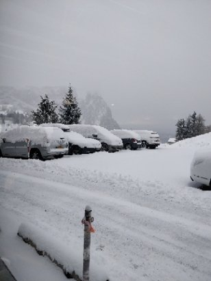 Alpe di Siusi / Seiser Alm - neve fresca oggi!!!  - © filo