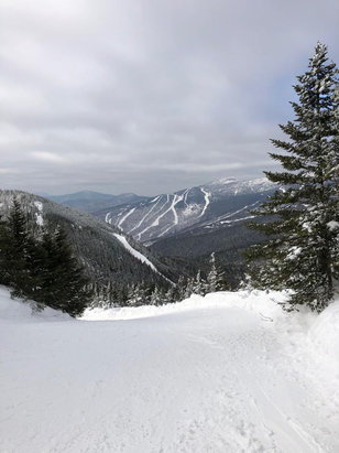 Smugglers' Notch Resort - The mountain was in fantastic shape!  Lots of fresh powder.  Mild day on Thursday March 14th but still awesome! - © Dennis Porteous's