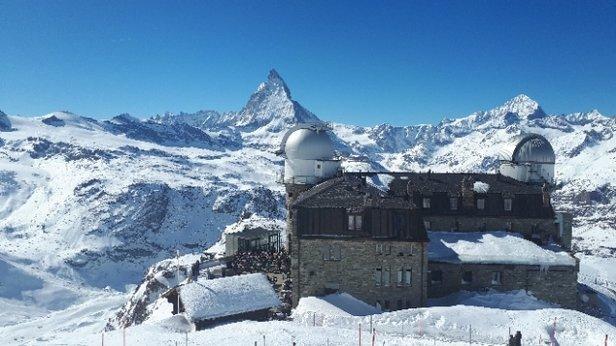Cervinia - Breuil - Neve splendida ed ottima visibilita'. - © Alberto - Chiavari (Ge)
