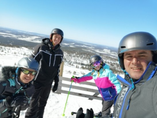 Levi - Great day skiing in Levi. Good pkace for the Family to learn.  - © Dan M
