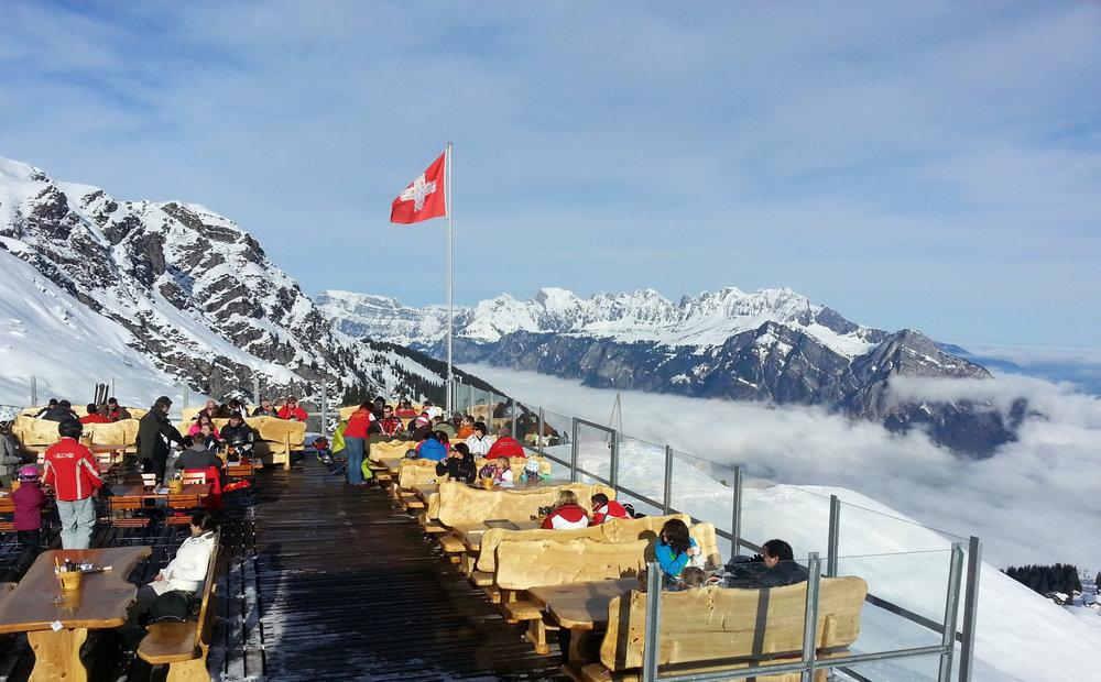 Bergrestaurant Mugghütte - © Pizolbahnen AG