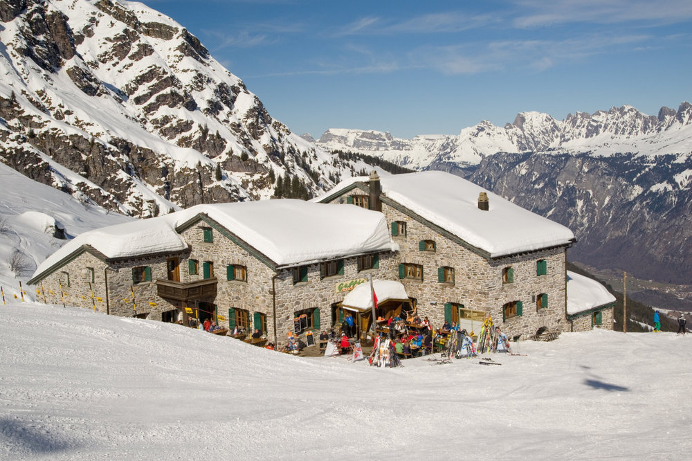 Berghotel Gaffia Pizol - © Pizolbahnen AG