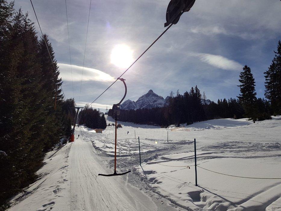 Skifahren in Serles - © Serleslifte Mieders