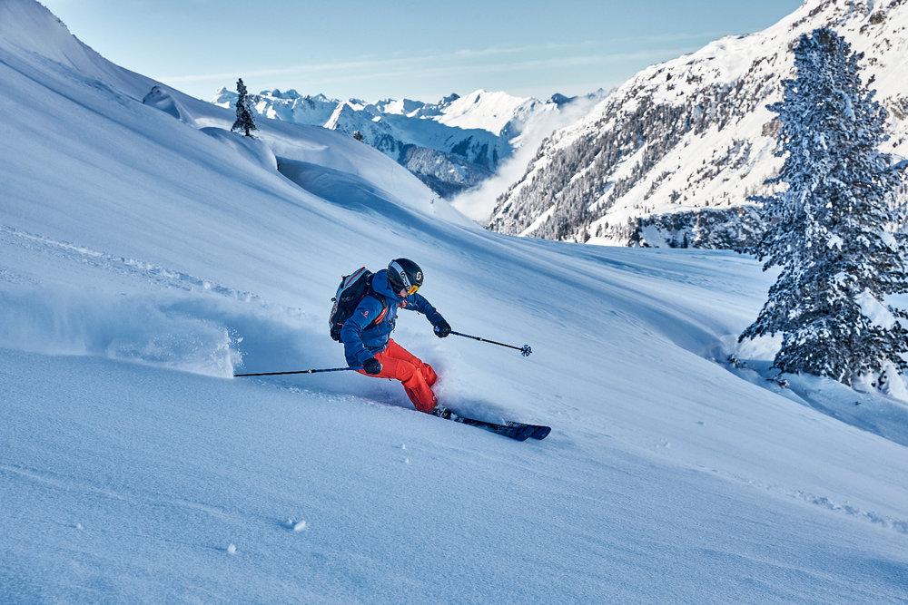 Skifahren abseits der Pisten in Galtür - © © TVB Paznaun - Ischgl