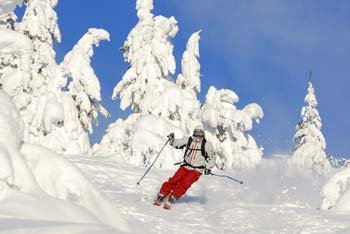Powder skiing in Trysil, Norway - © Ola Matsson, Trysilfjellet Alpin AS
