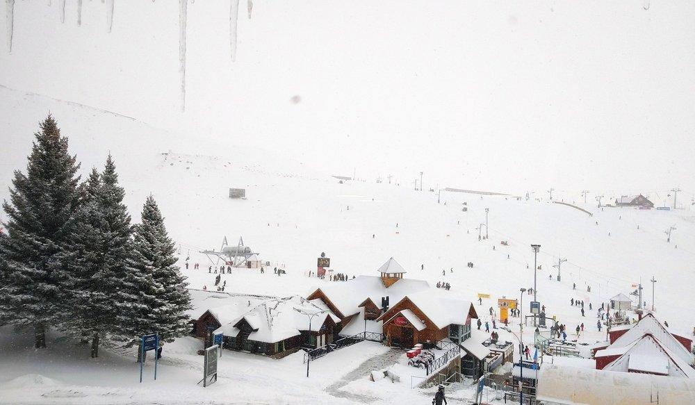 Massiver Schneefall in Las Lenas - © Facebook Las Lenas