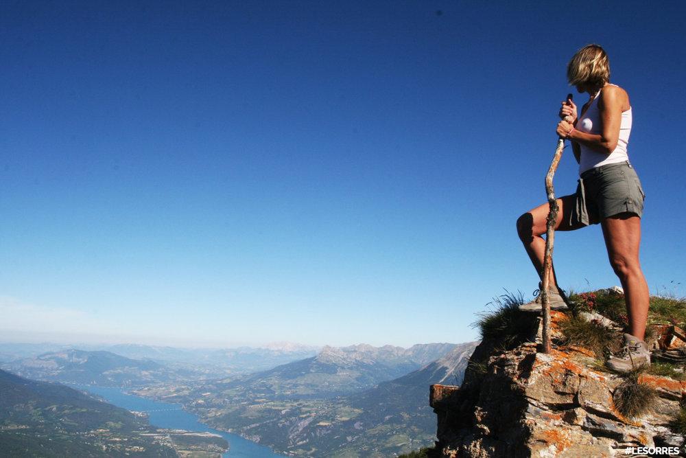 Pour en prendre plein la vue et profiter pleinement de votre été entre montagne et lac, direction les Orres... - © OT des Orres