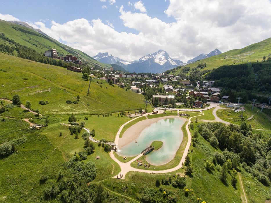 Ouverture officielle de la station des 2 Alpes du samedi 22 juin au samedi 31 août 2019... - © Les 2 Alpes - Hervé Doulat