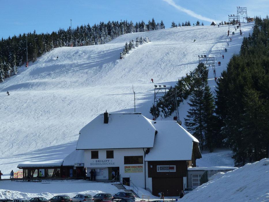 Skilift Seibelseckle - © Tourist-Info Seebach