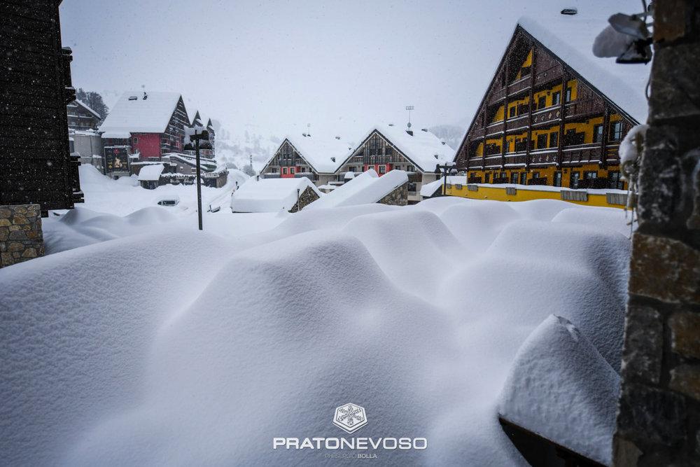 Super nevicata a Prato Nevoso 18.11.19 - © Prato Nevoso Ski Facebook