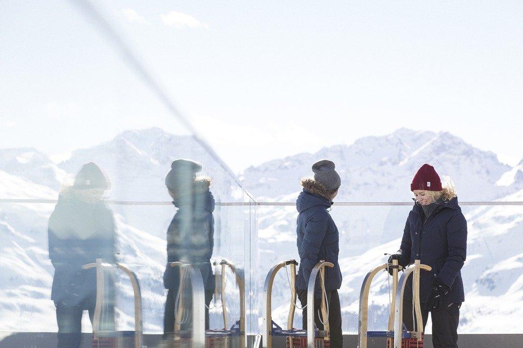 Schlittenfahren in St. Moritz - © Engadin St. Moritz Tourismus | FZ