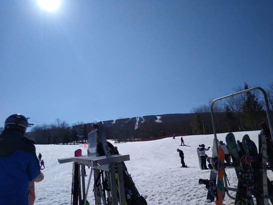 Belleayre - Beautiful Day @ Bellayre today great spring conditions no crowds Bluebird Day We had a blast  - © Thea Maguire