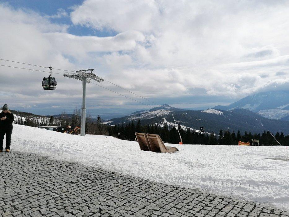 Parádne jarné podmienky v Bachledke - © facebook | Ski Bachledka