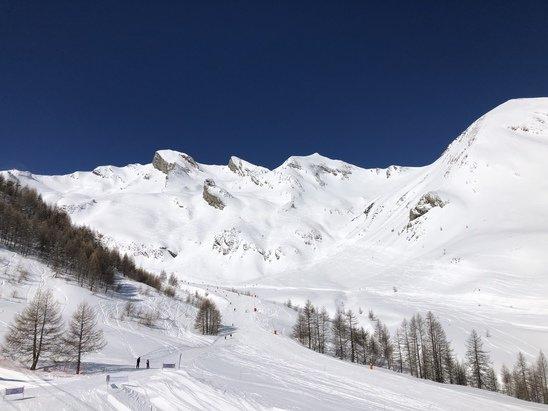 Val d'Allos - Le top du top la neige le soleil !!!!!!! - © ---
