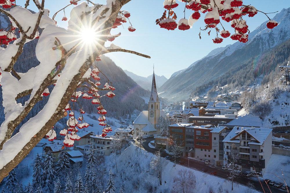 Kappl im Winter - © © TVB Paznaun - Ischgl
