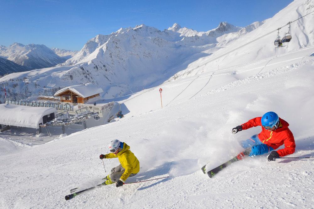 Skifahrer in Kappl - © © TVB Paznaun - Ischgl