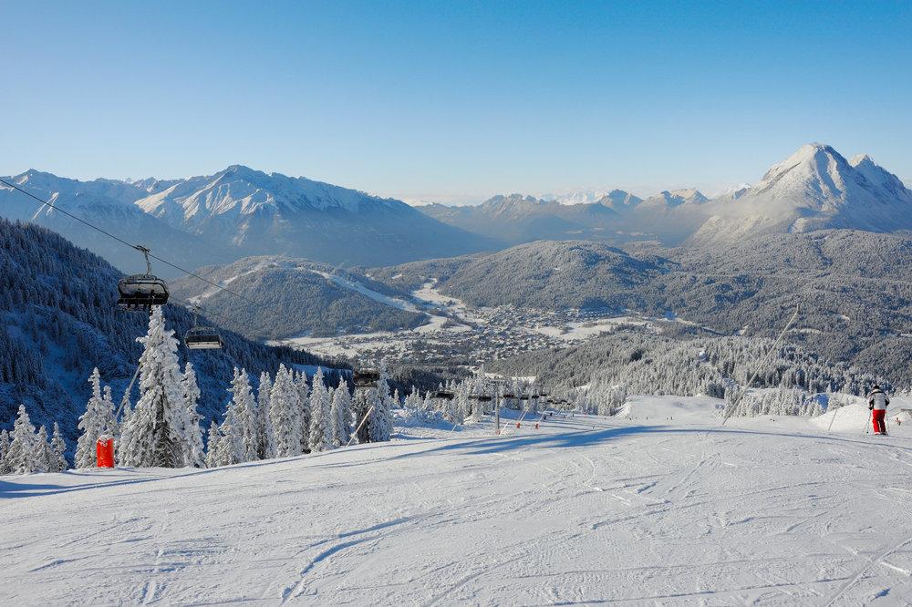 Skigebiet Rosshütte - © Olympiaregion Seefeld
