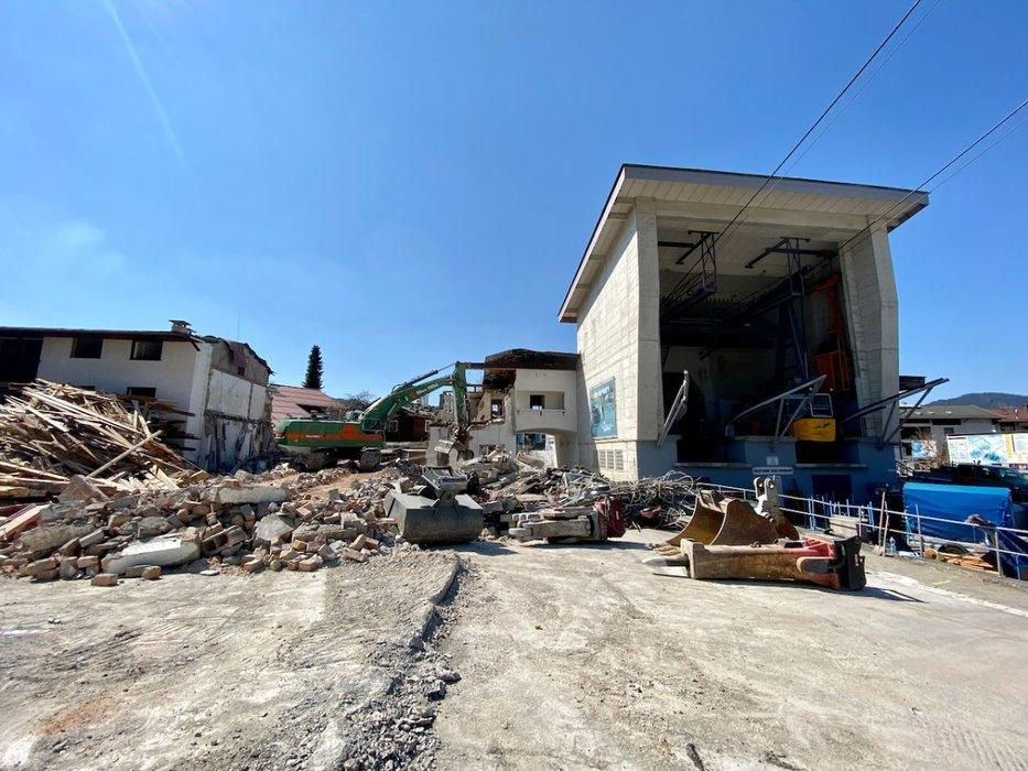 Die ersten Bauarbeiten haben bereits begonnen - © OBERSTDORF KLEINWALSERTAL BERGBAHNEN