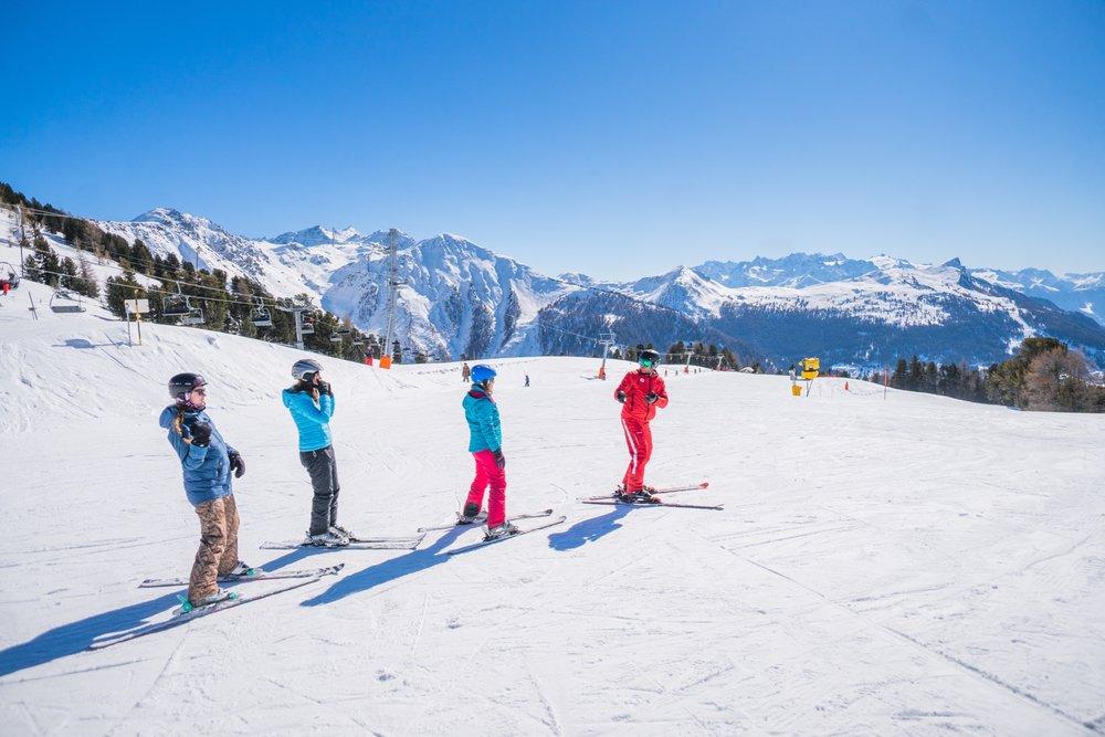 cours de ski - © Florian Bouvet-Fournier