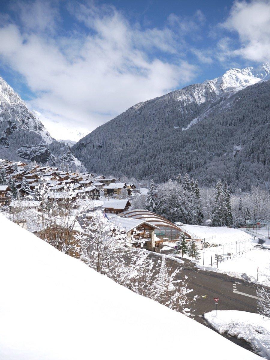 Champagny-neige - © La Plagne