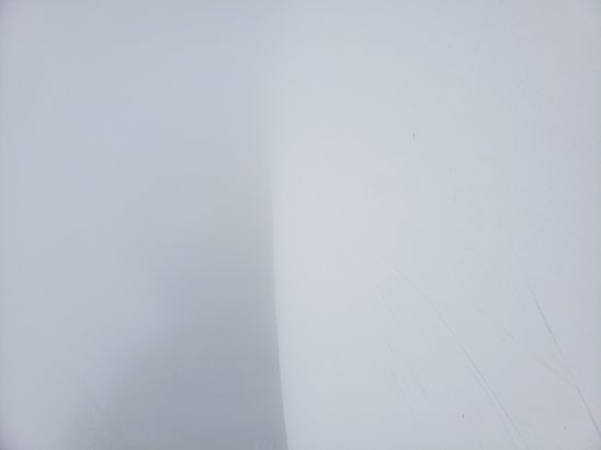 Belleayre - It was foggy and hard to see today.  The snow was OK.  - © Anonymous