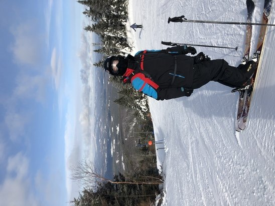 Mount Sunapee - Great skiing today. Great conditions and grooming - © Anonymous