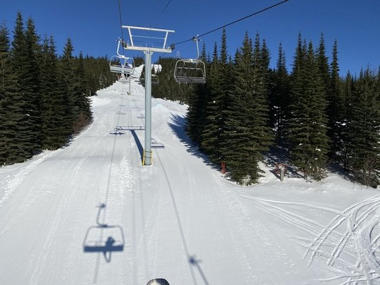 Sun Peaks - Sunny, not too cold.  - © Anonymous