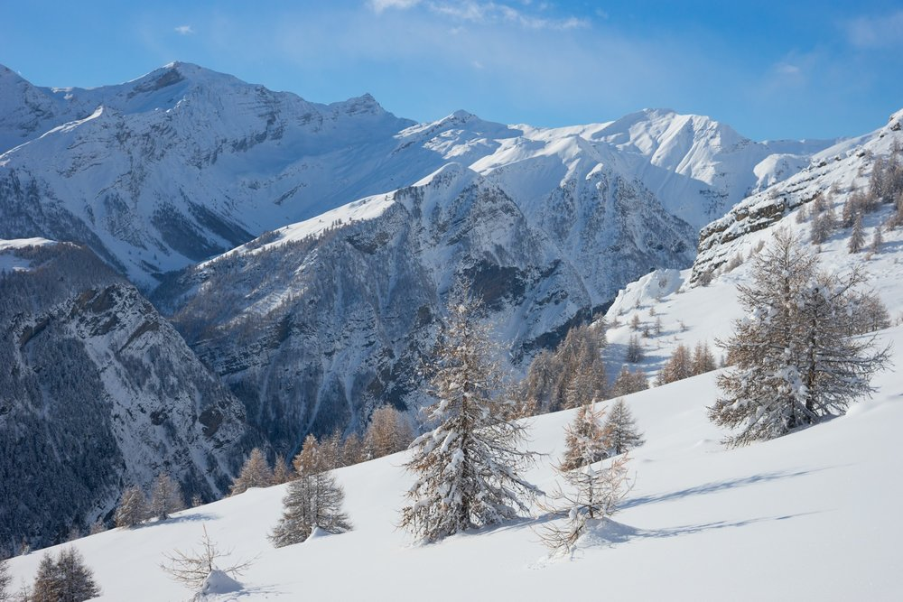 Montagne en hiver - © Rogier Vanrijn